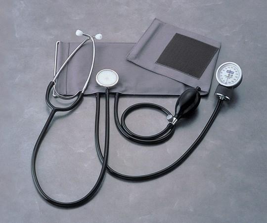 聴診器付アネロイド血圧計 No.501 本体セット 0501B002 (0-7012-01)