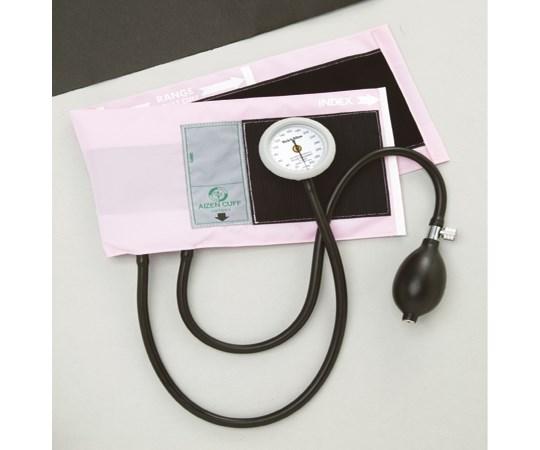 ギヤフリーアネロイド血圧計 ピンク (0-7795-04)