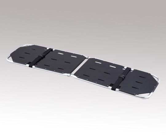 アズワン 折りたたみ担架 YDC-1A4H 黒 500×1850×50mm 7.0kg (8-2252-12)