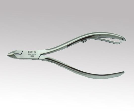 ニッパー 甘皮 HF-460R (8-2392-03) フットケア専用の医療用ニッパー