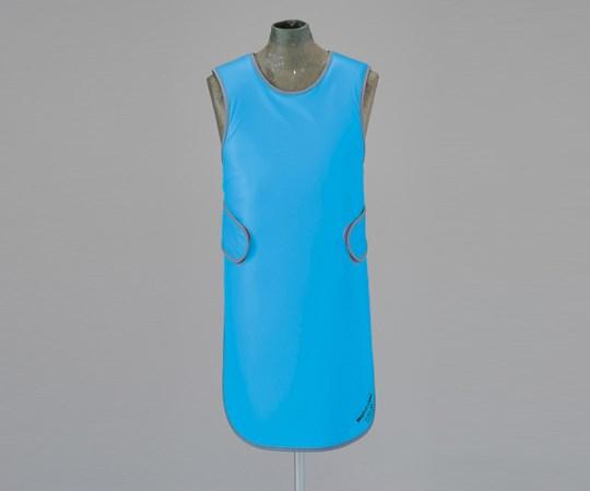 X線防護衣 ソフライトシンプラークール SMA-25L ブルー (8-2553-03) 青