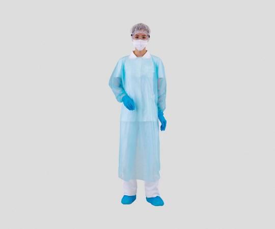 アズワン 感染症対策用ガウンセット ゴーグル付き ICM-02 1袋(10セット入)(8-5222-02)