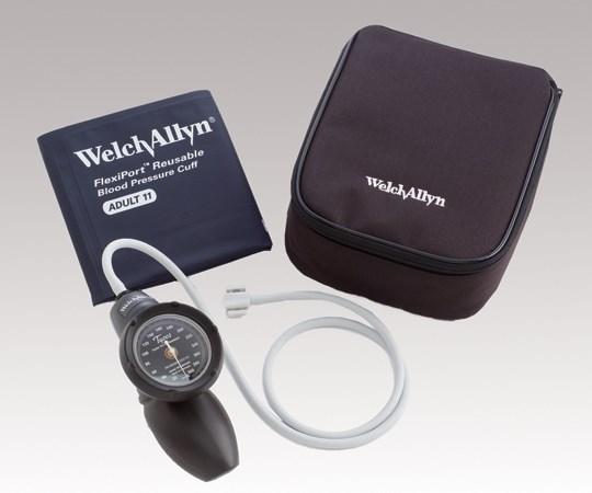 ウェルチ・アレン アネロイド血圧計 デュラショック ハンド型 成人用(中)カフ付き DS58-11 (8-7486-11)