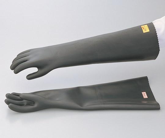 ハナキゴム 静電気用手袋 GC-8 黒 (1-6313-01)