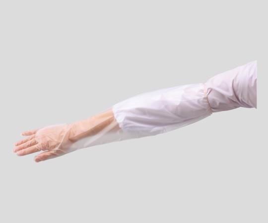 アズワン ウレタン手袋 ロングタイプ フリー UTS-500 30枚入 (2-816-01)