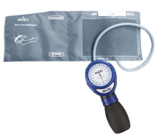 アネロイド血圧計 ワンハンド式 HT-1500 ブルー HT-1500-12K (8-5540-02)