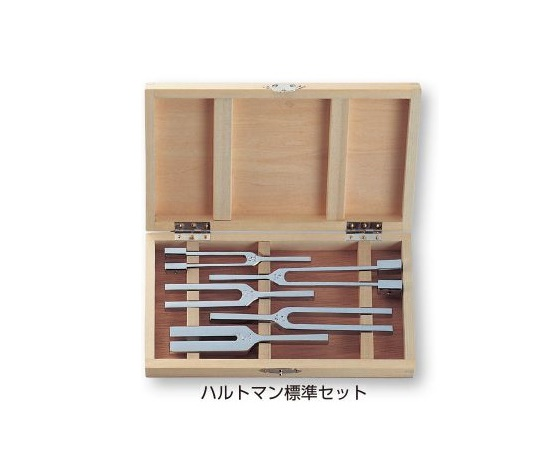 音叉 ハルトマン5本組 標準セット (0-1021-04)