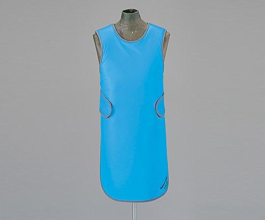 X線防護衣 M ブルー SMA-25 (8-2553-02)