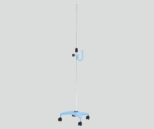 アズワン ナビス イルリガードルスタンド(ネスティングタイプ) 2本架 ブルー SAP2-H (8-8289-02)