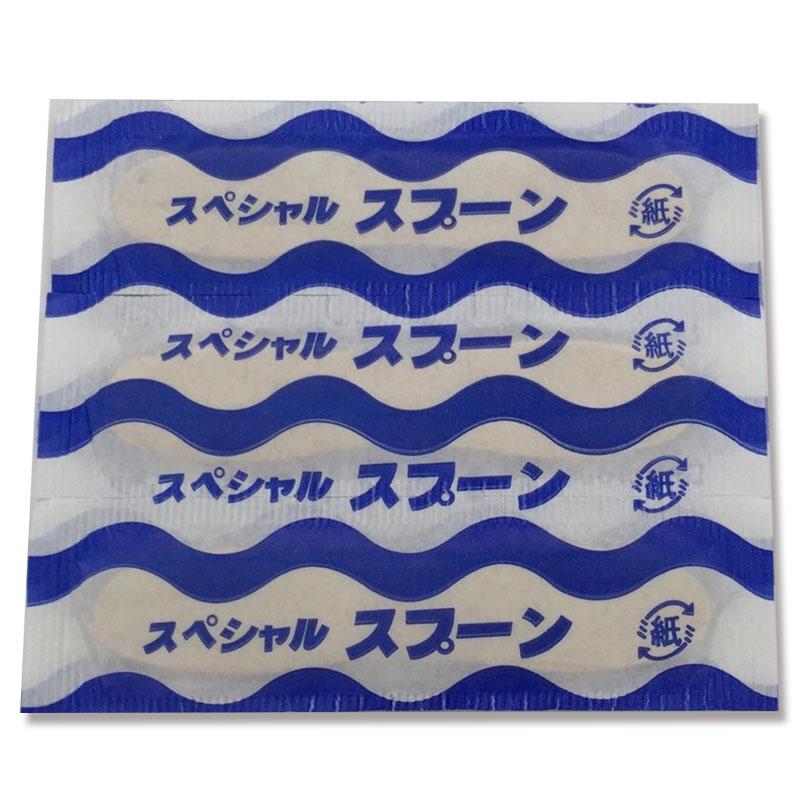 合計8 800円以上で送料無料 北海道 沖縄県を除く まるわ 小袋入 新作入荷 木製アイスクリームスプーン7.6 日本限定 004636867 6連×20P