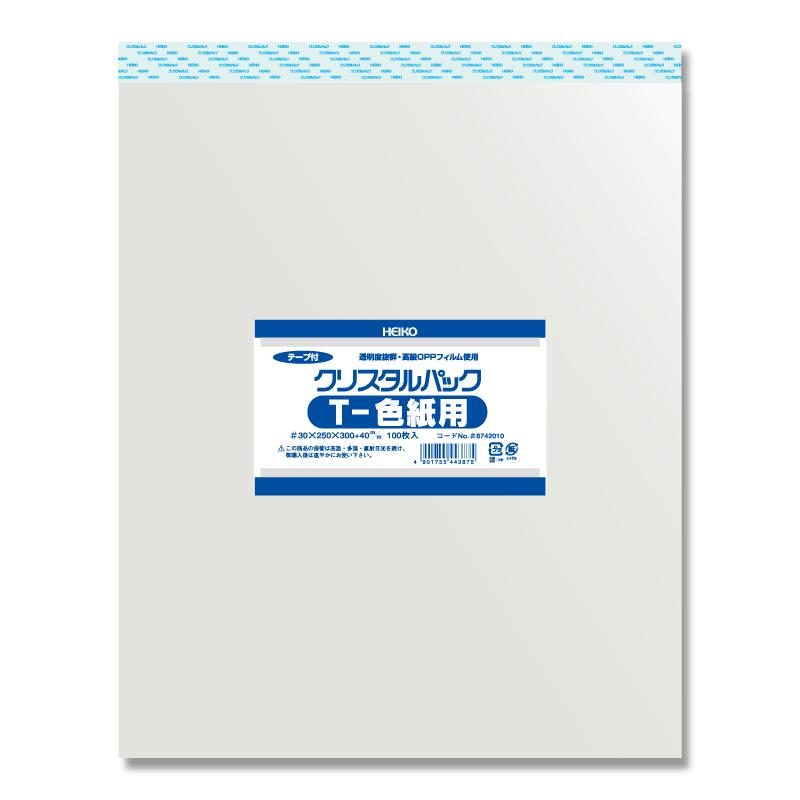 【10束セット】 HEIKO クリスタルパックT 色紙用 1000枚(100枚入×10)(006742010)