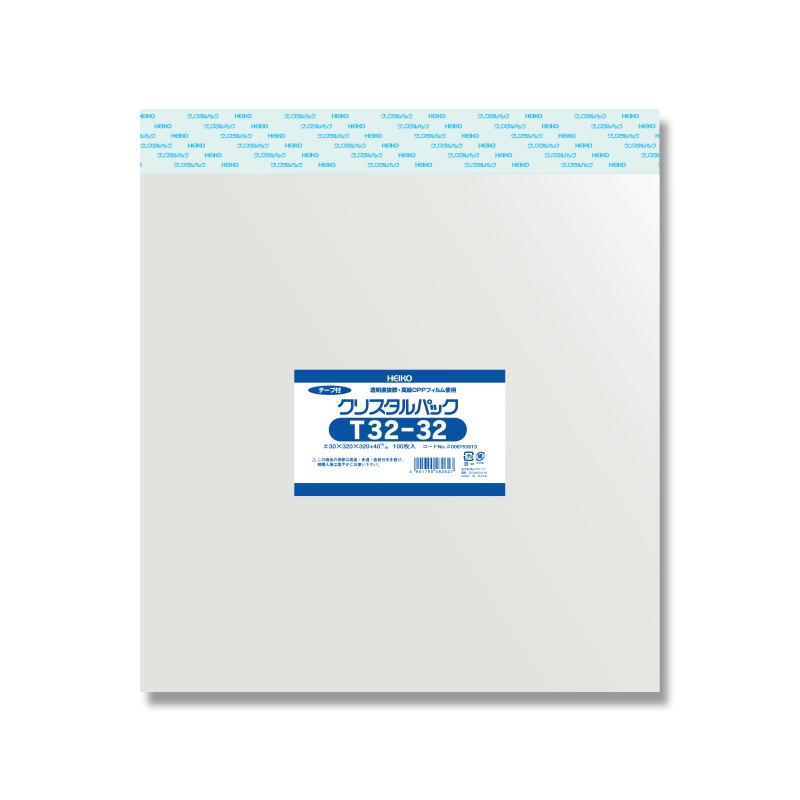 【10束セット】 HEIKO クリスタルパック T 32-32 1000枚(100枚入×10) (006753513)