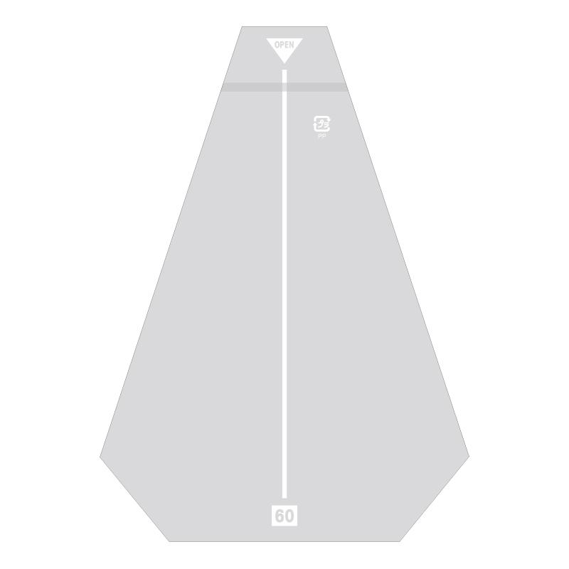 【10束セット】 HEIKO サンドイッチ袋 80 イージーカット ライン白 防曇 1000枚(100枚入×10)(006770602)
