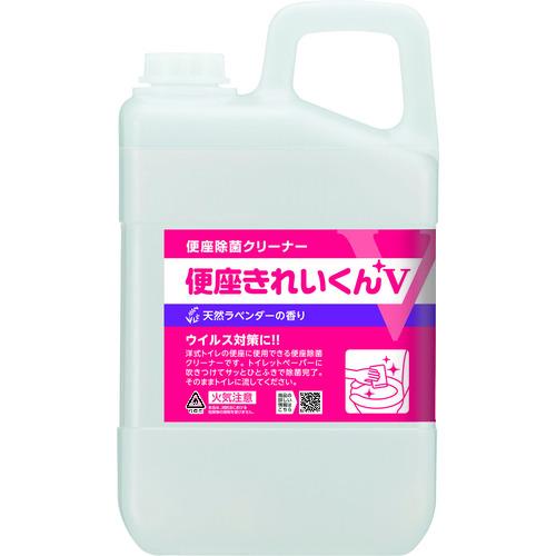 便座の清浄 価格 交渉 送料無料 洗浄 除菌 サラヤ 天然ラベンダーの香り 便座きれいくんV 3L 高級品 50277
