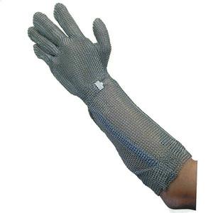 宇都宮製作 ステンレスメッシュ手袋 ロング45 GU-2515 L 1枚
