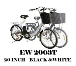 本州送料無料!検品試運転後発送 電動アシスト自転車20インチ EW2003T