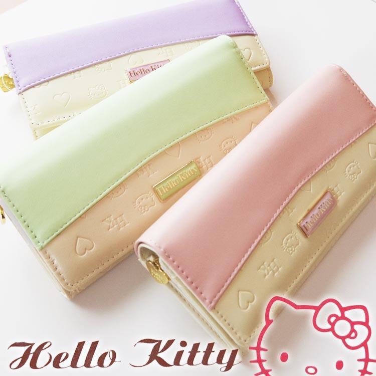 Advance web shop  New HELLO KITTY long wallet   halochititsurton ... 41faa80685