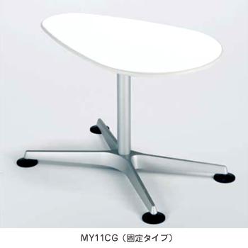 不要チェア無料引取り中 オカムラ クルーズ サイドテーブル CGタイプ(アジャスター付) MY11AG MJ64 [オフィスチェア]