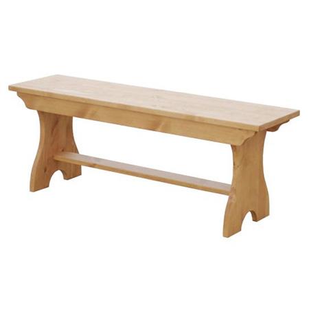 カントリー家具 ベンチチェアー イス A010 やわらかくて優しいデザイン アトリエシリーズ 人気