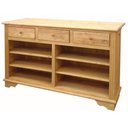 カントリー家具 カウンター 150cm A015 引出ストッパー付、可動棚4枚 アトリエシリーズ 人気