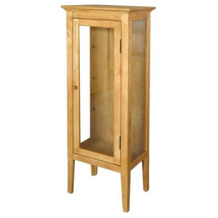 カントリー家具 コレクションキャビネット A309 可動ガラス棚3枚付 アトリエシリーズ 人気