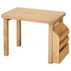 カントリー家具 K.N デスク T309 3歳からのキッズテーブル アトリエシリーズ 人気