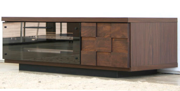 GART COLK 90 Low Board ガルト コルク 90ローボード 木製 ブラウン テレビボード テレビ台 人気【スーパーセール】