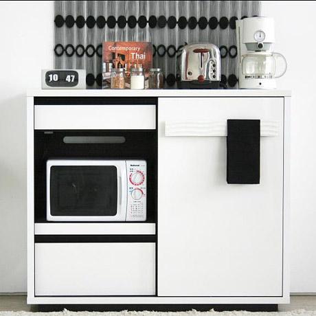 GART SULE シュール 120ミドルボード ガルト レンジ台 レンジワゴン キッチン キッチン収納 ホワイト 人気