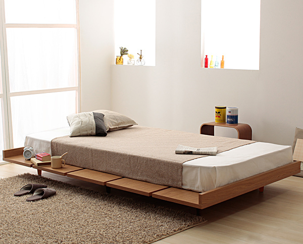 ピアット 北欧調ベッド(120サイズ) 人気
