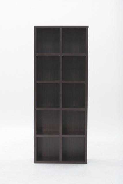 多目的ラック(CDラック カラーボックス)収納家具 ブックシェルフ ラック 大容量 スリム収納 本棚 本収納 レガール 収納棚5段 RG-7118 人気
