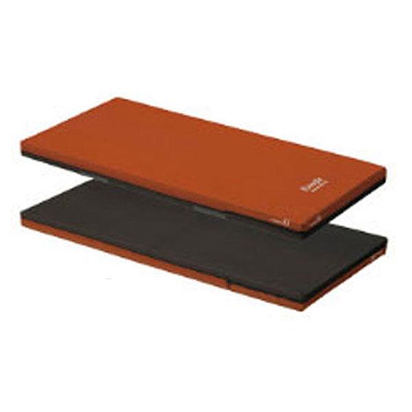 (代引き不可) パラマウント エバーフィットマットレス 通気タイプ 100cm幅レギュラー KE-577Q (ウレタンマット リバーシブル 体圧分散 床ずれ予防 介護 通気性) 介護用品(日・祝日配達不可 時間指定不可)