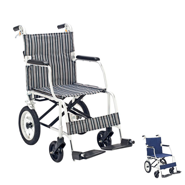 (当店は土・日曜日はポイント+5倍!!)(代引き不可) 介助車いす ファイン マキライフテック (軽量車イス 介助用車椅子 介助式車いす)介護用品