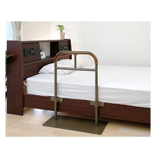 (当店は土日はポイント+5倍!!)ベッド用手すり しんすけST 48140 リッチェル (介護用品 福祉用具 ベッド ベット 寝具 てすり 介護用品 福祉用具 ベッド ベット てすり 立ち上がり )
