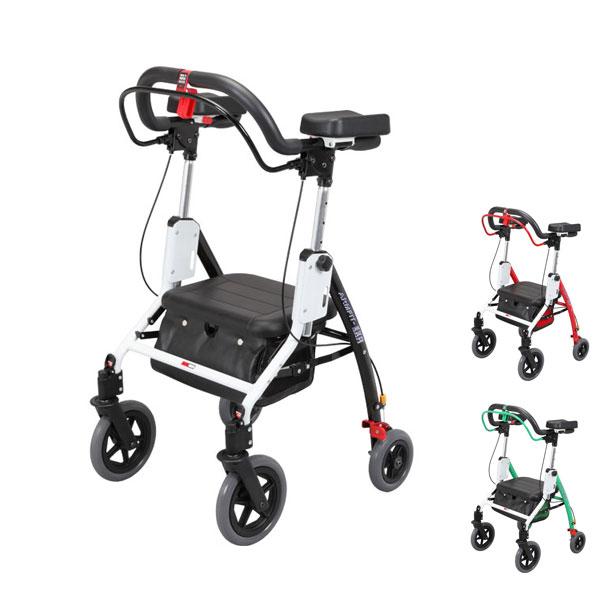 (当店は土・日曜日はポイント+5倍!!)アームフィット EXR 室内外兼用 EXR-698E ユーバ産業 (歩行器 折りたたみ) 介護用品