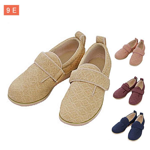 徳武産業 ダブルマジックII 雅 9E 7022 (婦人靴 介護靴 屋外 室内履き あゆみシューズ) 介護用品