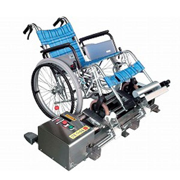(当店は土日はポイント+5倍!!)(代引き不可) 車椅子車輪洗浄機ラクーン・ミニ2 東海機器工業 (車いす 車輪用 洗浄機) 介護用品