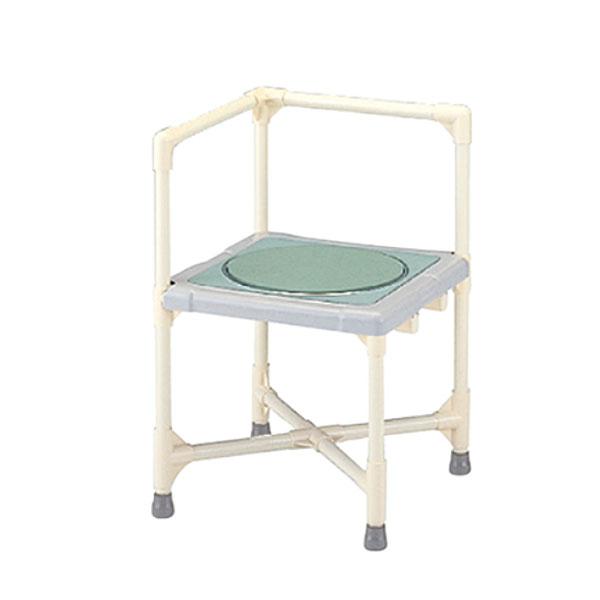 【当店は土日はポイント+5倍!!】(代引き不可) シャワーいす L型 ターンテーブルタイプ(大) CAT-0101 矢崎化工 (介護用 風呂椅子 浴室 椅子 椅子 回転椅子) 介護用品