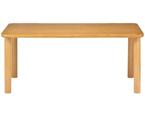 【受注生産品】(代引き不可)介護施設向けテーブル 長方形 TS1-K16590 貞苅椅子製作所 介護用品