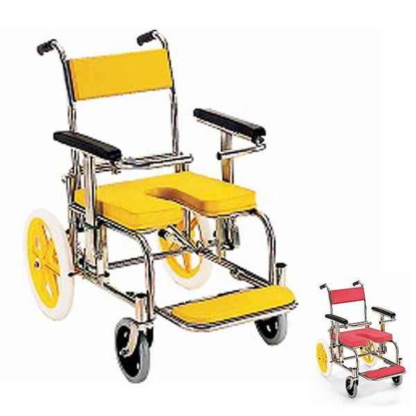 【当店は土日はポイント+5倍!!】(代引き不可)入浴・シャワー用車いす KS2 カワムラサイクル (お風呂 椅子 浴用椅子 シャワーキャリー 背付き 介護 椅子) 介護用品