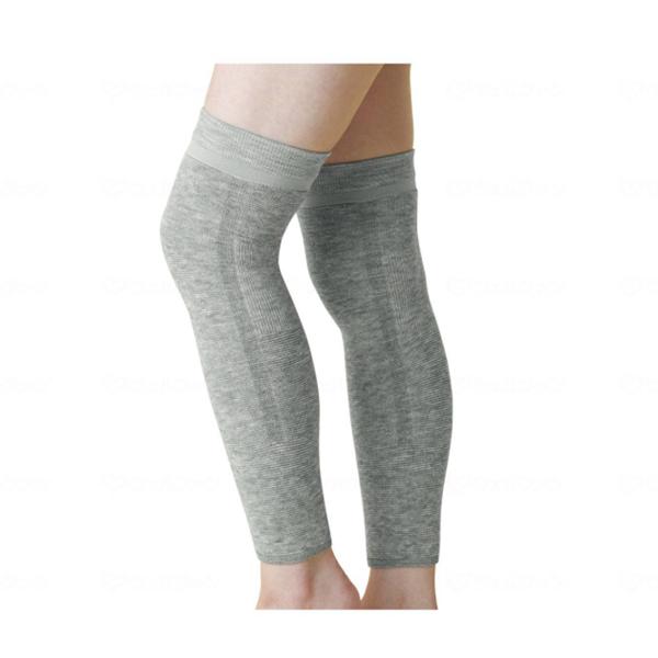 ひざの形に合わせた立体編みで 広い範囲を温めます スーパーセール ポイント5倍 備長炭ロングサポーター 2枚組 介護 サポーター お気にいる 4953 ビビエルボ 介護用品 気質アップ