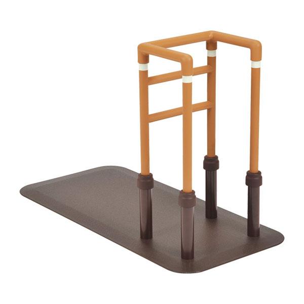 (代引き不可) ルーツ コーナータイプ MNTPCRBR モルテン (立ち上がり手すり 立ち上がり補助手すり おきあがり 室内 転倒防止 ベッド 手すり) 介護用品