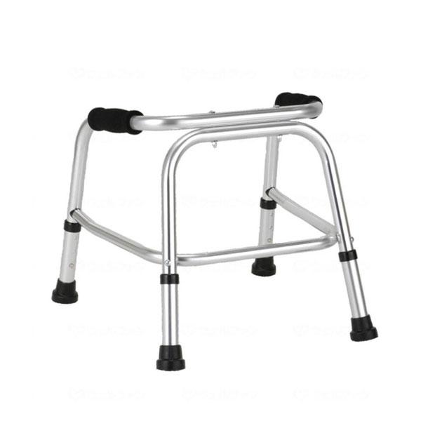 (代引き不可)クリスタル産業 Uラインウォーカー /AL-125S(固定式歩行器)介護用品
