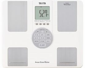 【当店は土日はポイント+5倍!!】体組成計 インナースキャンVoice / BC-202-WH ホワイト タニタ