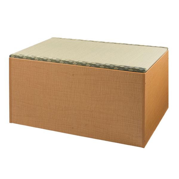 (当店は土日はポイント+5倍!!)(代引き不可) 畳ユニットボックス ハイタイプ STBYH-90 幅90cm (幅90×奥行60×高さ45cm) 山陽総業 介護用品