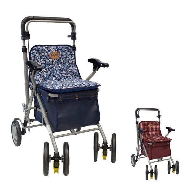 パレード 島製作所 (シルバーカー 手押し車 ショッピングカート 折りたたみ 介護 シルバー カー) 介護用品