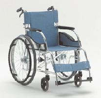 (代引き不可)松永製作所 アルミ自走式車いす エアリアルMW-SL11B ノーパンクタイヤ仕様 介護用品【532P16Jul16】