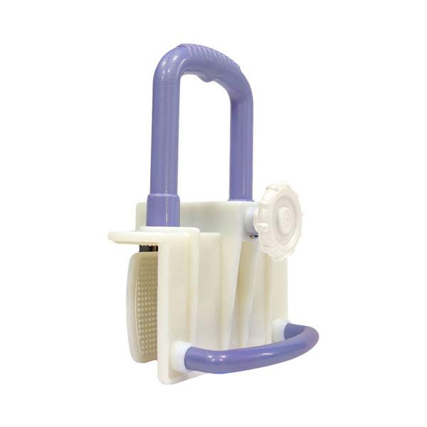 バスグリップ 7512 紫 島製作所 (入浴 浴槽移動 移乗手すり 風呂 手すり) 介護用品