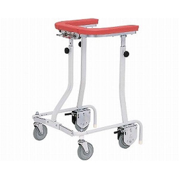 (代引き不可) 折りたたみ式歩行車 抵抗器付(在宅タイプ・グリップなし)TY157B-SL 日進医療器 (歩行補助 小回り 折りたたみ) 介護用品1)介護用品