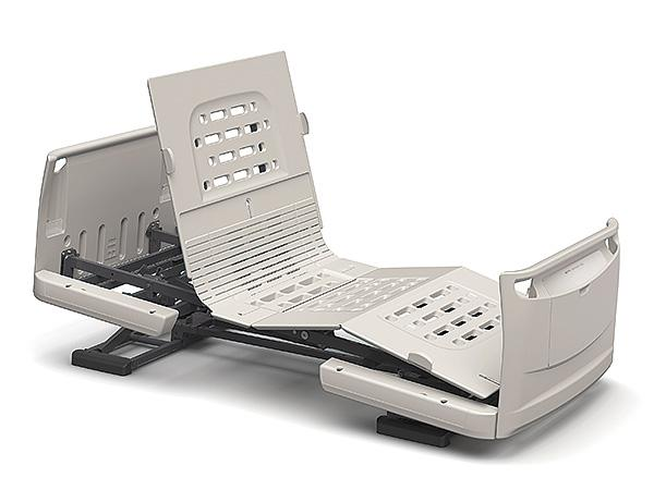 (代引き不可)楽匠Z 2モーション 樹脂ボード / KQ-7200 83cm幅 ミニ パラマウントベッド介護用品
