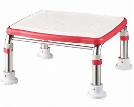アロン化成 安寿 ステンレス製浴槽台Rジャストソフト17.5-25 / 536-503(入浴補助 浴槽用イス 踏み台)介護用品